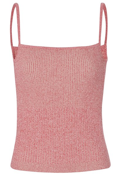Maison Ullens Cotton top in red sand