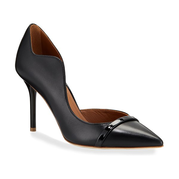 Malone Souliers Morrissey Napa Pointed Pumps in black