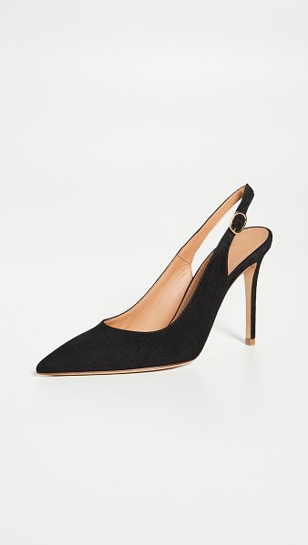 Mansur Gavriel 100mm classic heels in black
