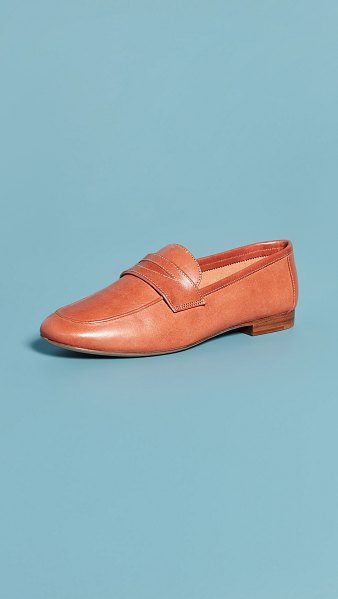 Mansur Gavriel classic loafers in brandy