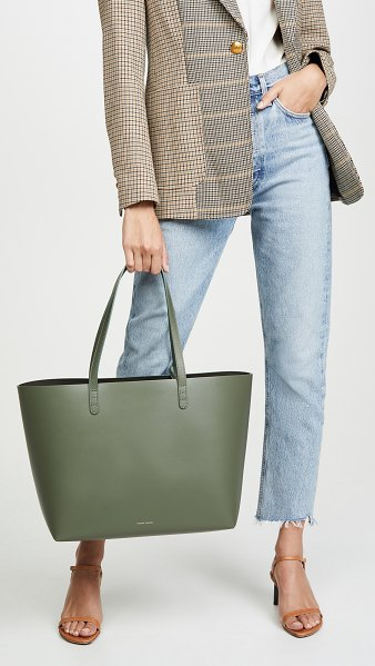 Mansur Gavriel large tote in leaf