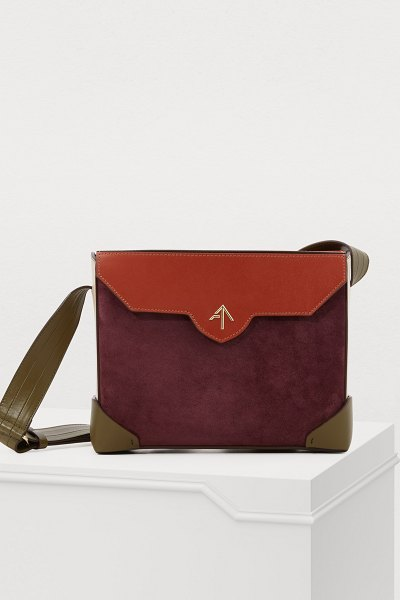 MANU Atelier Bold Combo bag - This Bold Combo bag bears the bold, refined signature of...