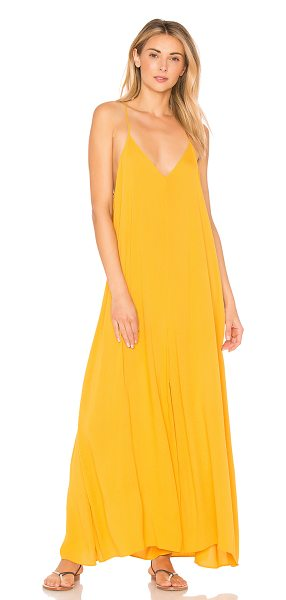 Mara Hoffman Carly Jumpsuit In Yellow Shopstasy