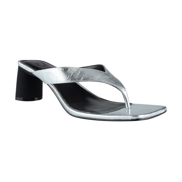 MARC FISHER LTD cadence flip flop in silver