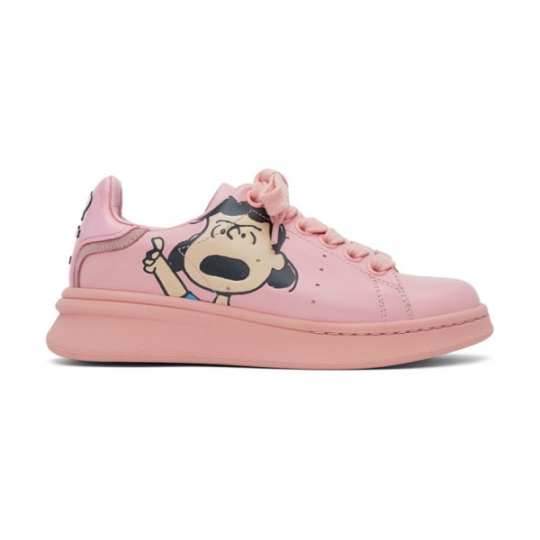 Marc Jacobs pink peanuts edition the tennis shoe sneakers in 650 pink
