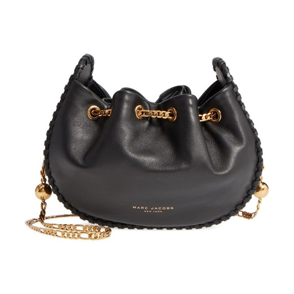 Marc Jacobs sway party leather crossbody bag in black - Small enough to wear while dancing, but big enough for...