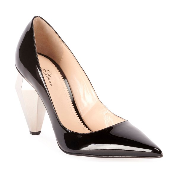 Marc Jacobs The Pump Patent Pointed Pumps in black