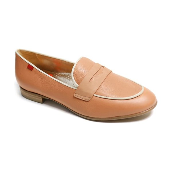 Marc Joseph New York bryant park penny loafer in toast soft