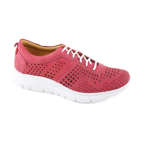 Marc Joseph New York grand central 2 sneaker in pink nubuck leather