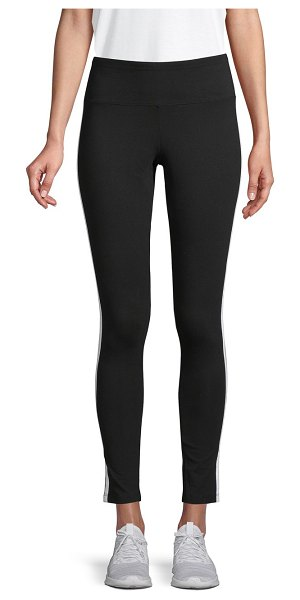 Marc New York Performance Pull-On Stretched Leggings in black white