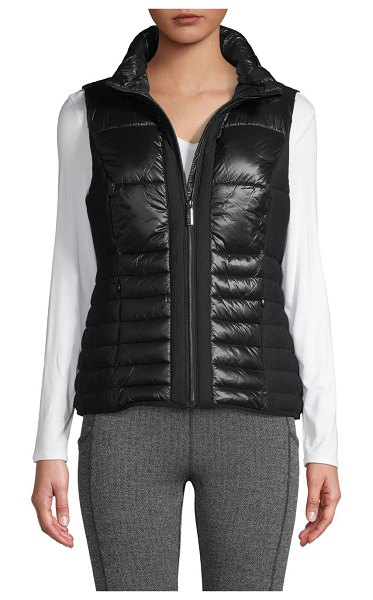 Marc New York Performance Quilted Packable Vest in black