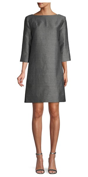 Marni Metallic Sheath Dress in granite