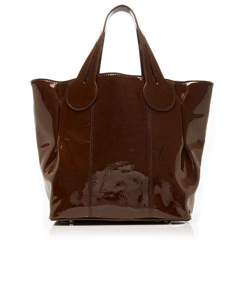 Marvais theo chocolate tote in brown
