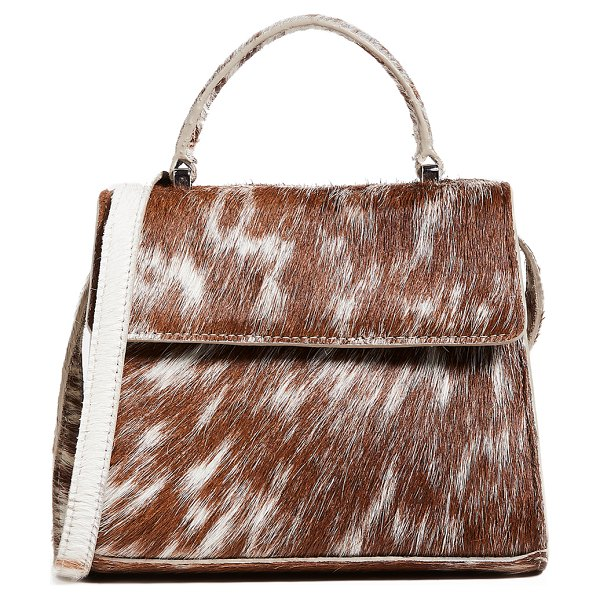 Maryam Nassir Zadeh marlow bag in appaloosa - Cannot be shipped outside the USA Fur: Dyed haircalf,...