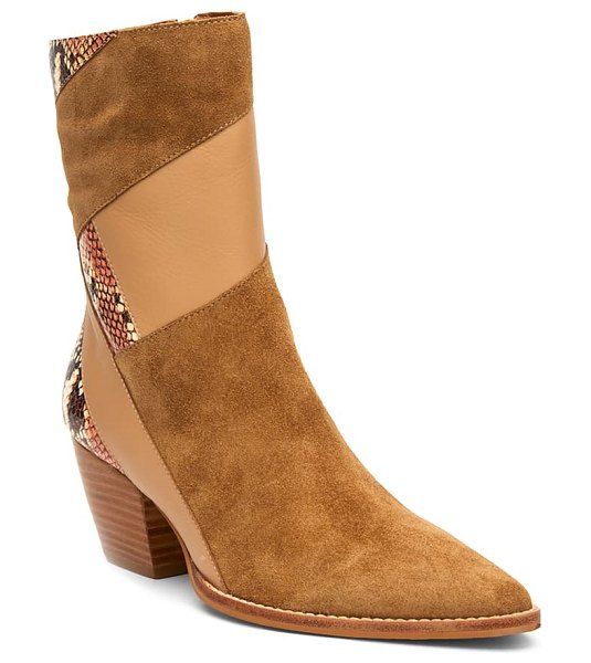 Matisse lennox boot in fawn suede