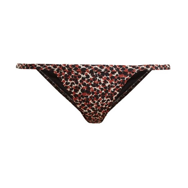 MATTEAU the petite bikini briefs in brown print