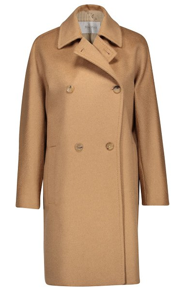 Max Mara Baleari camel hair coat in camel