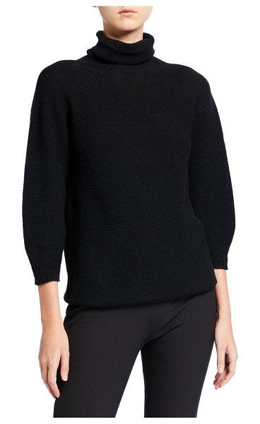 Max Mara Etrusco Turtleneck Sweater in black