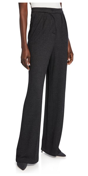 Max Mara Luana Jersey Pants in dark gray