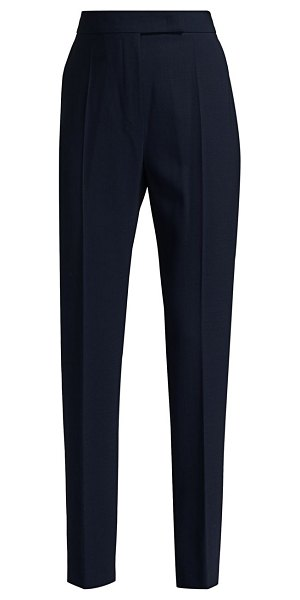 Max Mara villar stretch-wool pants in ultramarine