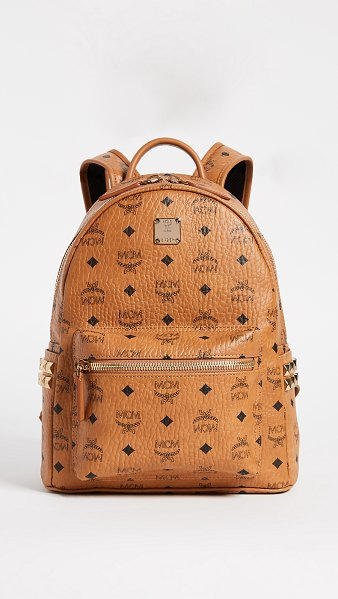 MCM small backpack in cognac