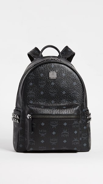MCM small backpack in black