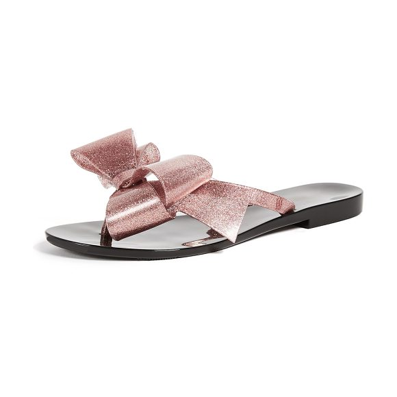 7ac71ec7653533 Melissa Harmonic Bow Thong Sandals in Pink