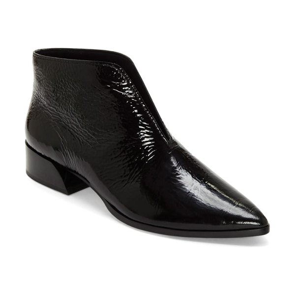 MERCEDES CASTILLO jacey pointy toe bootie in black