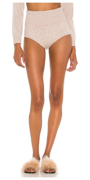 Michael Costello x revolve knit short in natural