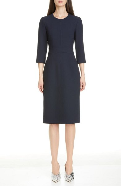 Michael Kors Collection sheath dress in midnight