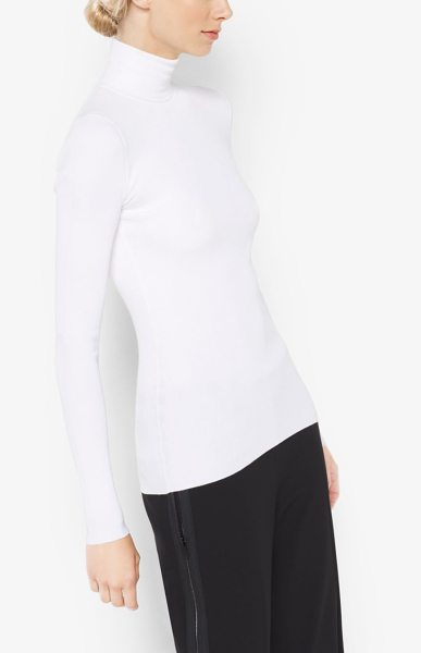 MICHAEL KORS COLLECTION Stretch-Jersey Turtleneck - This Turtleneck Is Designed In Stretch-Jersey For A...