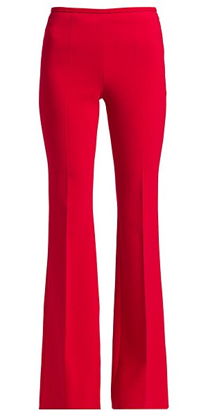 Michael Kors Collection stretch-wool flare pants in crimson