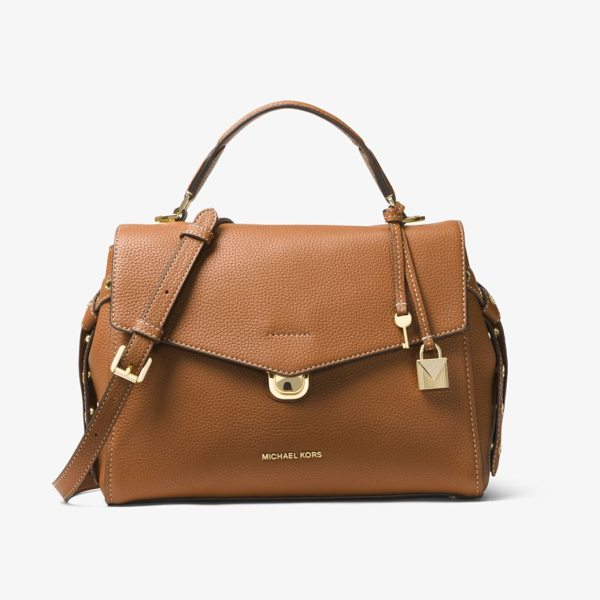 MICHAEL MICHAEL KORS Bristol Medium Leather Satchel - Soft Meets Structured On Our Bristol Satchel Crafted From...