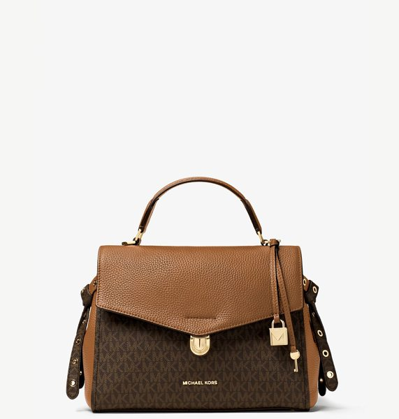 MICHAEL MICHAEL KORS Bristol Medium Logo Satchel - Soft Meets Structured On Our Bristol Satchel Crafted...