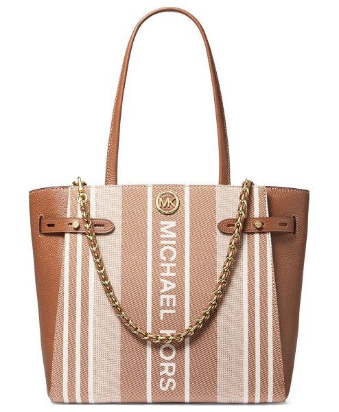 MICHAEL Michael Kors carmen large belted tote in lugg multi