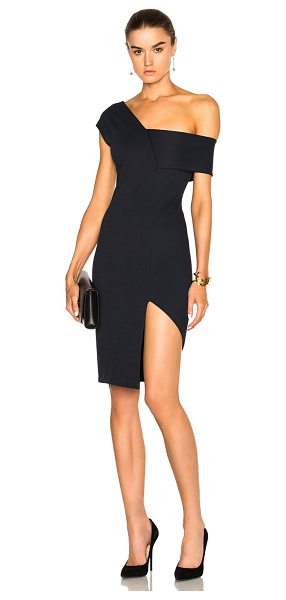 Michelle Mason Asymmetrical Strap Dress in blue - Launched in 2002 as a contemporary diffusion line from...