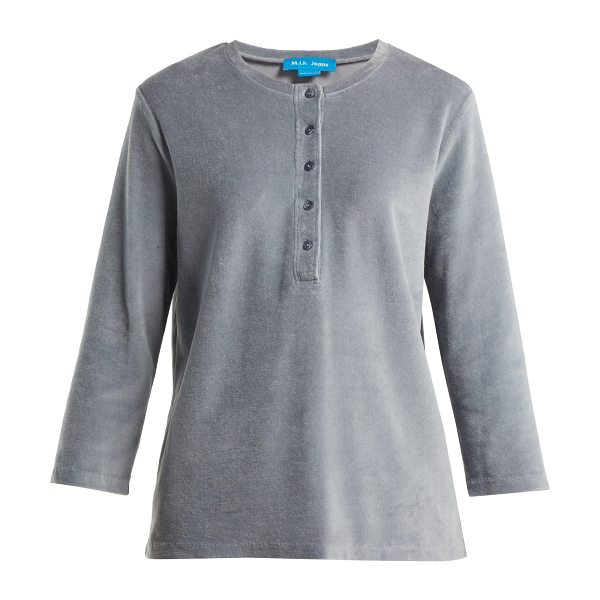 M.i.h Jeans ashley cotton blend top in grey