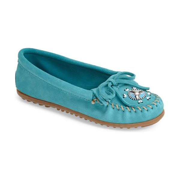 Minnetonka 'me to we artisans in turquoise