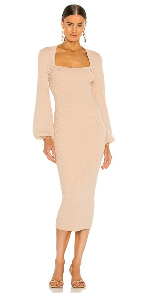 Misha Collection bernelle dress in sand