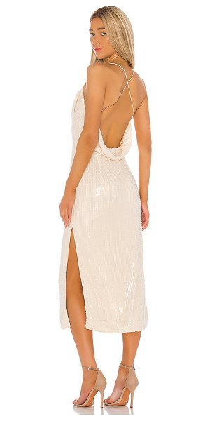 Misha Collection devon dress in champagne