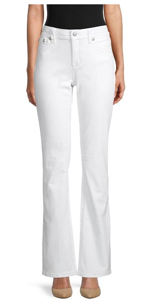 Miss Me Chloe Bootcut Jeans in white