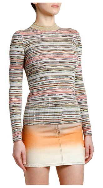Missoni Spacedye High-Neck Sweater in multi