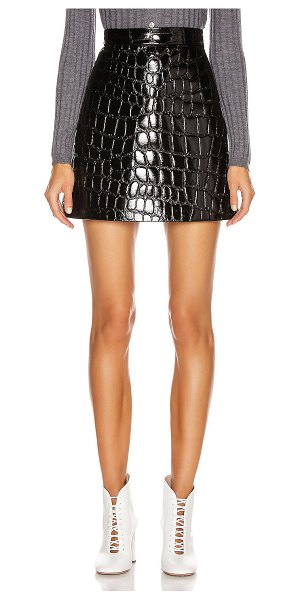 Miu Miu mini skirt in black