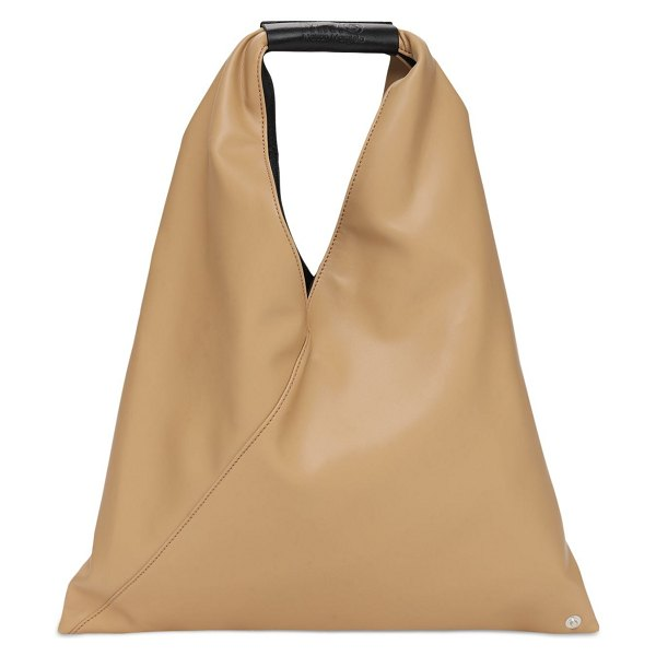 MM6 Maison Margiela Sm japanese faux leather tote in nude