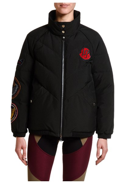 Moncler 2 Moncler 1952 Minho Puffer Jacket w/ Patches in black