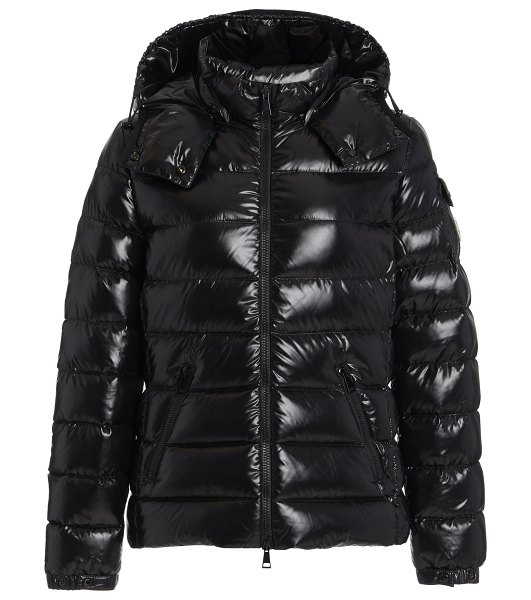 Moncler bady short down puffer jacket in white