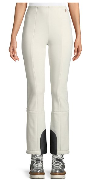 Moncler Grenoble Skinny-Fit Stretch Ski Pants in natural - Moncler Grenoble stretch ski pants. Flat front; mid-rise...
