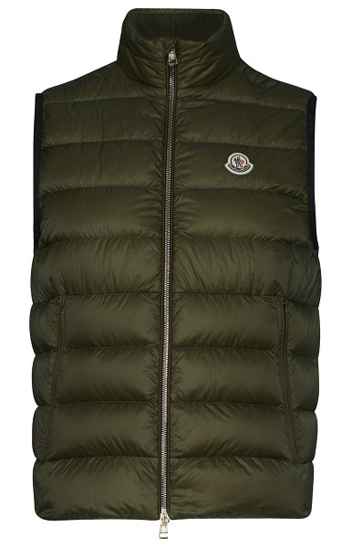 Moncler Iory gilet in olive