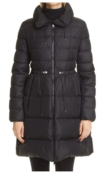 Moncler malban coat in black