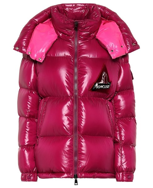 Moncler wilson puffer jacket in pink